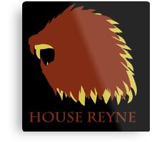 Game of Thrones - House Reyne Metal Print