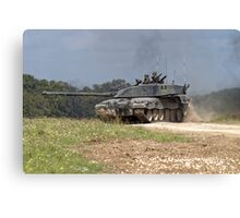 British Army Challenger 2 Main Battle Tank  Canvas Print
