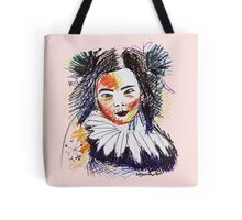Colourful Bjork Tote Bag