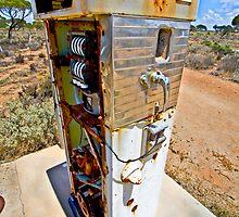Bowser - Nullarbor Plain, South Australia by Stephen Permezel