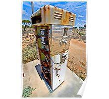 Bowser - Nullarbor Plain, South Australia Poster