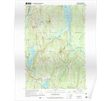 Maine USGS Historical Map Readfield 102912 2000 24000 Poster