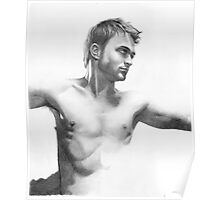 Daniel Radcliffe - a drawing in progress Poster