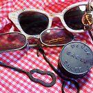 My Grannies Glasses by WildestArt