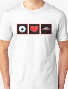 I HEART UFOs T-Shirt