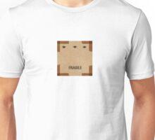 Cardboard Box Print Unisex T-Shirt