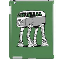 VW Bus AT-AT Imperial Walker iPad Case/Skin