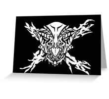 Gore Magala Sigil Greeting Card