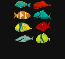 Turbo FISH Compilation Womens Fitted T-Shirt