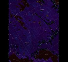 Maine USGS Historical Map Red Beach 460801 1949 24000 Inversion by wetdryvac