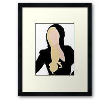 Lady Gaga Versace Framed Print