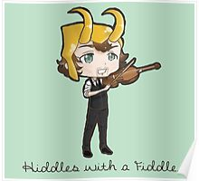 Hiddles with a Fiddle Poster