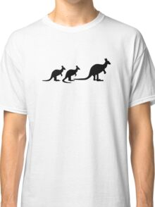 Kangaroo family Classic T-Shirt