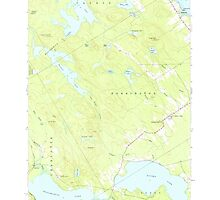 Maine USGS Historical Map Red Beach 460801 1949 24000 by wetdryvac