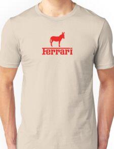 Ferrari Ass Parody  - red Unisex T-Shirt