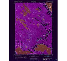 Maine USGS Historical Map Red Beach 807094 1949 24000 Inversion Photographic Print