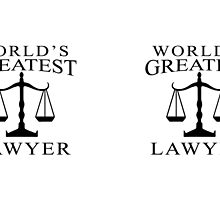 World's Greatest Lawyer by Viterbo