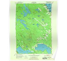Maine USGS Historical Map Red Beach 807094 1949 24000 Poster