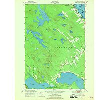 Maine USGS Historical Map Red Beach 807094 1949 24000 Photographic Print