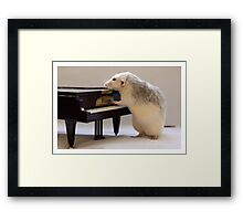 My new piano! Framed Print