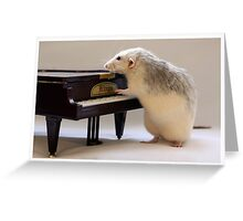 My new piano! Greeting Card