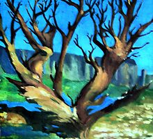"Oil Paintings : Naturescape by "" RiSH """