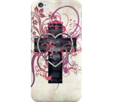 Hope, Faith and Love iPhone Case/Skin