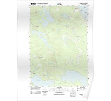 Maine USGS Historical Map Red Beach 20110829 TM Poster