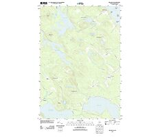 Maine USGS Historical Map Red Beach 20110829 TM Photographic Print