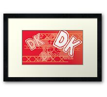 Retro Games: Donkey Kong Framed Print
