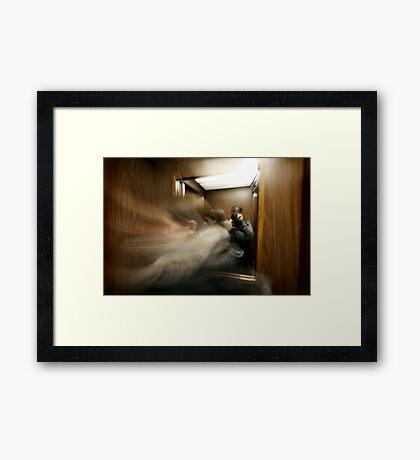 Elevated Framed Print