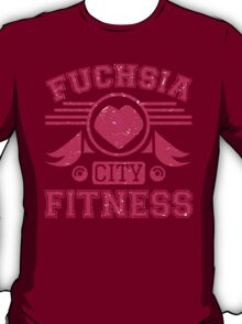Fucshia City Fitness T-Shirt