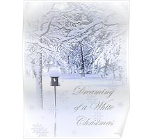 Dreaming of a White Christmas Poster