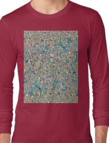 Informel Art Abstract Long Sleeve T-Shirt