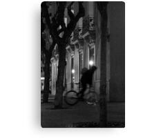 FIXIE ROAD Canvas Print