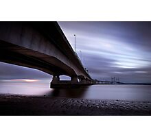 Severn crossing Photographic Print