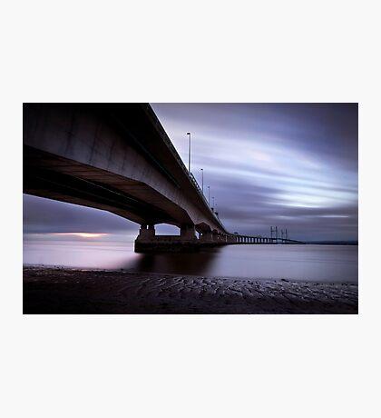 Severn crossing Photographic Print