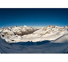 Panorama from Gornergrat Photographic Print