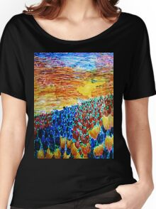 Tulip Sunset Women's Relaxed Fit T-Shirt