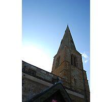 The church at Thorpe Malsor Photographic Print