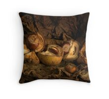 Conkers Throw Pillow