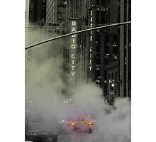 Radio Taxi Photographic Print