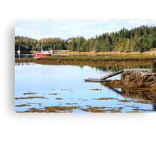 A Nova Scotia Jetty Canvas Print