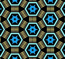 Bold Hexagonal Pattern by Lyle Hatch