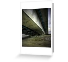 Fly over Greeting Card