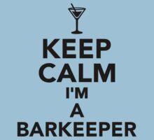 Keep calm I'm a Barkeeper Kids Tee