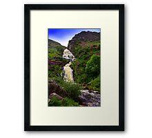 Assaranca Waterfall. Framed Print
