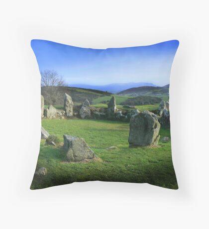 Ballymacdermot Court Cairn  Throw Pillow