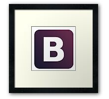 Bootstrap Framed Print