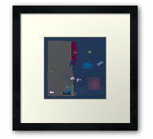 Roaming Framed Print
